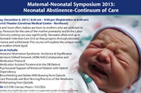 Charlotte AHEC Presents: Maternal-Neonatal Symposium 2013 ...